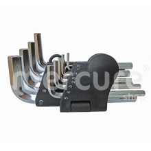 CHEI HEXAGONALE CR-V SET 10 (1.5-10 MM)