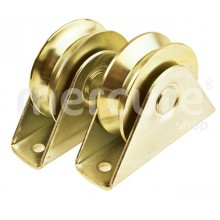 SET 2 ROLE POARTA 60 MM CU SUPORT, CANAL Y 92 GRD