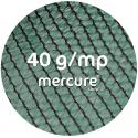 PLASA UMBRIRE HDPE, UV - 1.5 x 50 M, VERDE, 40 g/mp