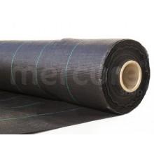 PLASA ANTIBURUIENI 1 X 20 M, 100 G/MP, NEGRU (IX)
